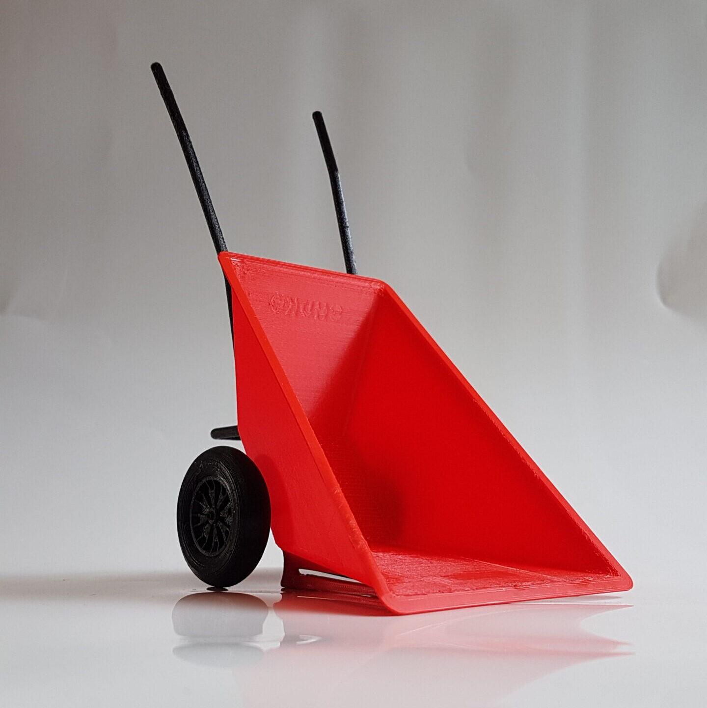 Chuko Kruiwagen Schaalmodel 3D print Lettele