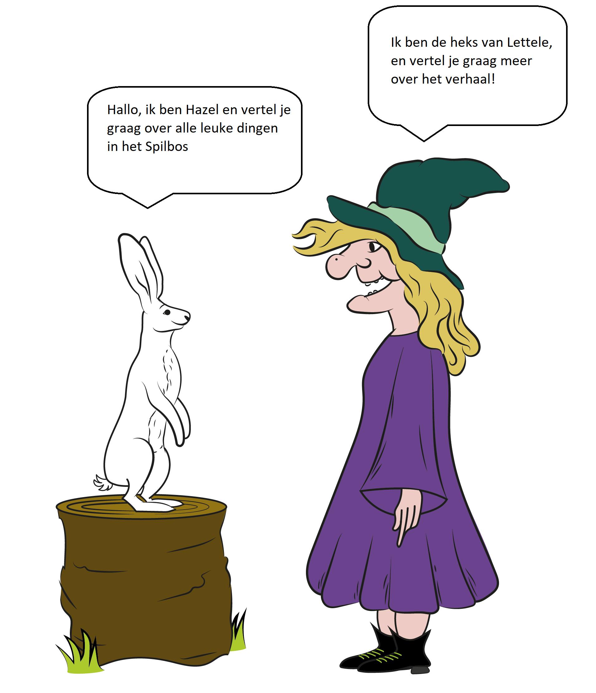Heks van Lettele en Hazel