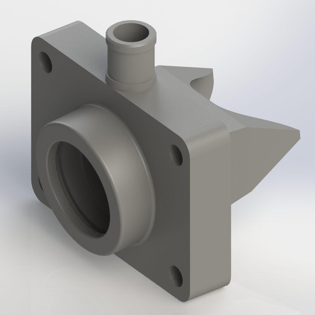 PETG 3D print Prusa Brandstoftoevoer